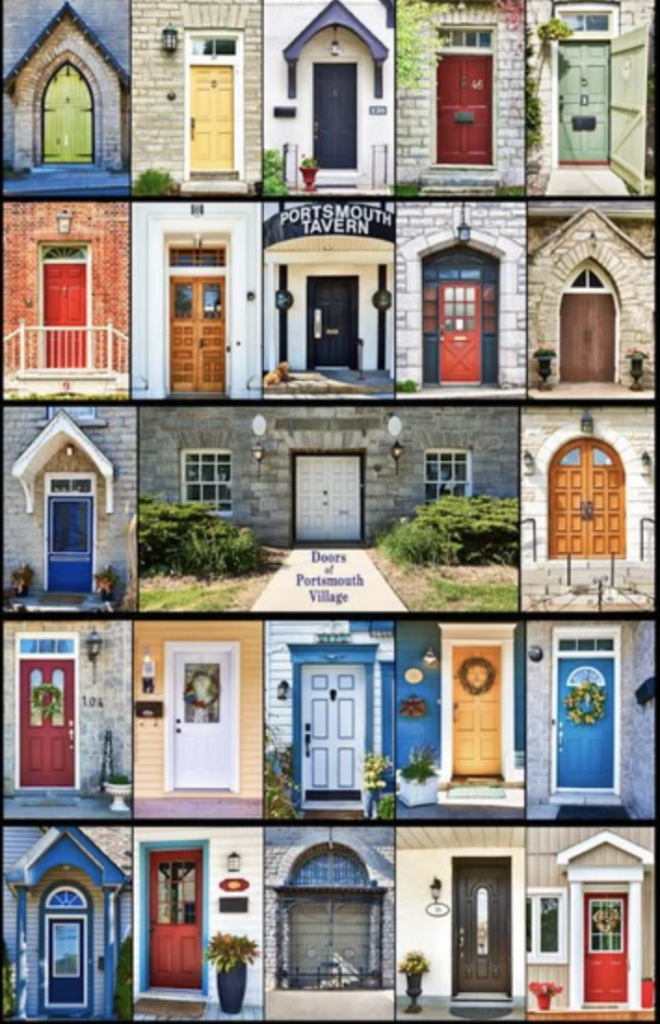 Doors of Portsmouth Village